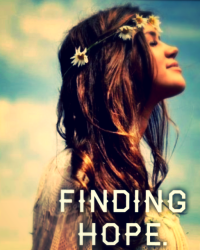 Finding hope.