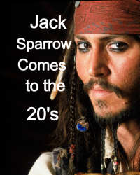 Jack Sparrow in the 20's