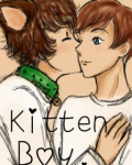 Kitten Boy ~Larry Stylinson AU~ Hybrid Harry!
