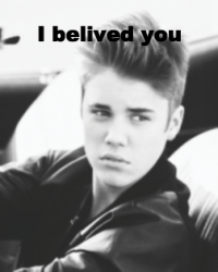 i belived you-Justin Bieber