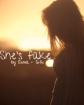 She's fake | One Direction