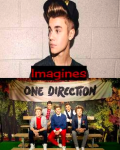 Justin Bieber and One Direction Imagines