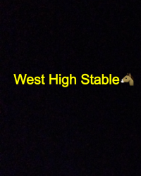West High Stable