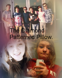 The Diamond Patterned Pillow.