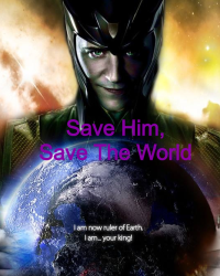 Save him, Save The World.