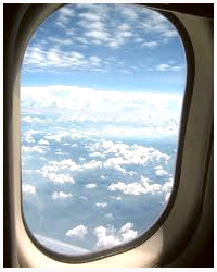 From the Window of a Plane