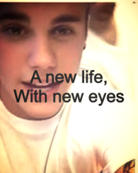 A new life, with new eyes