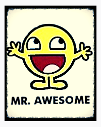 My Mr.Awesome