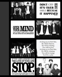IMAGINES : ONE DIRECTION:).