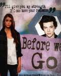 Before we go { Harry Styles }
