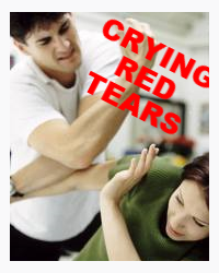 CRYING RED TEARS