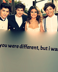 Thought you were different - One Direction Fanfiction