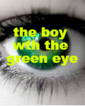 the boy with the green eyes