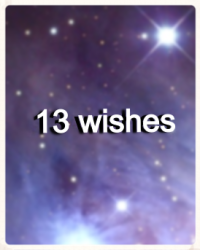 13 wishes