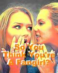 So You Think You're A Fangirl?