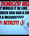 The Demigod Wizard