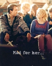 Mad for her...