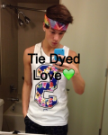 Tie dyed love 💚