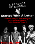 Started With A Letter (A 5 Seconds Of Summer Fan Fiction)