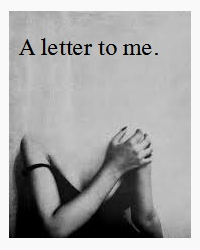A letter to me.