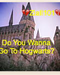 Do You Wanna Go To Hogwarts?