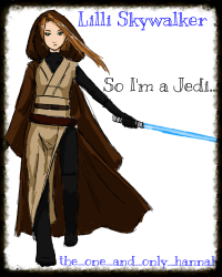 Lilli Skywalker - So I'm a Jedi...