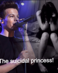 The suicidal princess