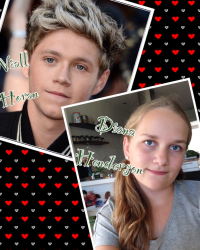 Niall Horan and Diana Henderson.