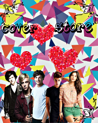 {(Cover store)}