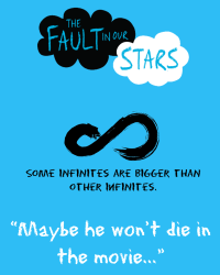 The Fault In Our Stars Movie Poster (For competition)