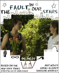 The Fault In Our Stars - alternative filmplakater