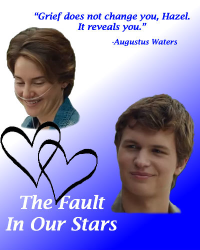 """""""Grief does not change you, Hazel. It reveals you."""""""