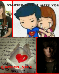 It all started with I hate you (Carl Grimes Fanfic) (The Walking Dead)