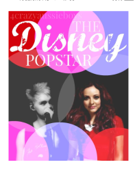 The disney popstar (micheal clifford fan fiction.)