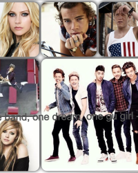 One band, One dream, One girl - One Direction<3