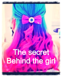 The secret behind the girl