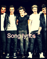 One Direction song lyrics