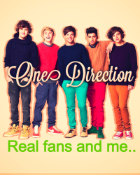 Real fans and me..