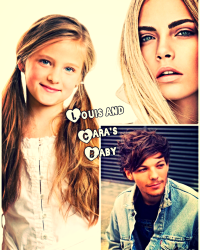 Louis and Cara's Baby❤️👪