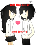 jeff the killer and jennie