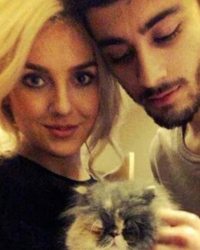 Perrie's Birthday with Zayn