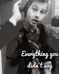Everything you didn´t say