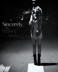 Sincerely, yours. ~oneshot~