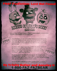 FNAF Fanfiction: Lost But Found