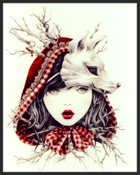 Red riding hood with a twist!