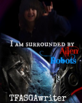 I am surrounded by Alien Robots!