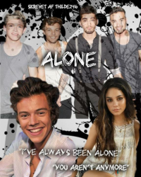 Alone - One Direction