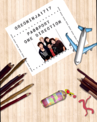 Passport One Direction