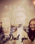 don't give up - 1D