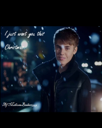 I Just want you this Christmas - Justin Bieber